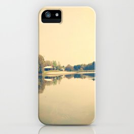 Lake Herrick- Athens, GA iPhone Case