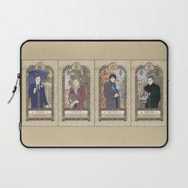 Sherlock Victorian Language of Flowers Four Seasons Laptop Sleeve