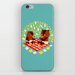 picknick bears iPhone Skin