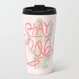 Stay Cool Cactus Travel Mug