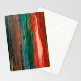 Claire One (The woman in the paint.) Stationery Cards
