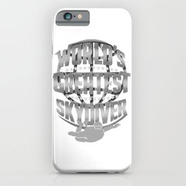 Skydiving World's Greatest Skydiver iPhone Case