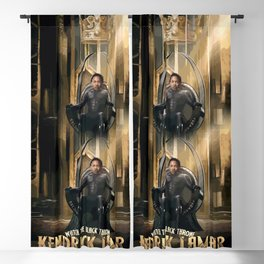 Kendrick - Watch The Black Throne Blackout Curtain