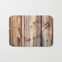 Wood pattern Bath Mat
