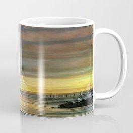 Captivating Sunset Over The Harbor Coffee Mug