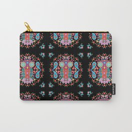 Owl Blooms with Love Carry-All Pouch