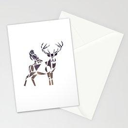 deer & owl Stationery Cards
