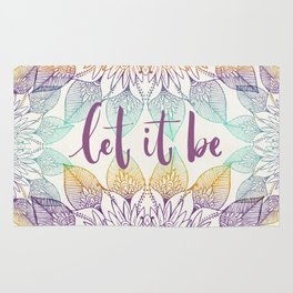 Let it be Rug