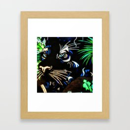 Tribal Tiger Framed Art Print