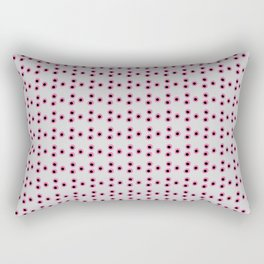 Pink Dots Rectangular Pillow