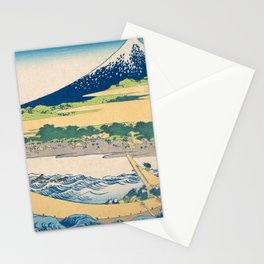 Katsushika Hokusai - Tago Bay Blockprint Stationery Cards