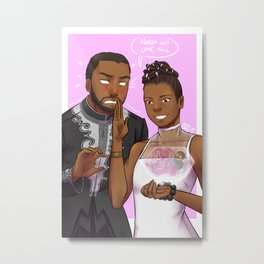 Siblings Metal Print