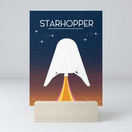Starhopper Space art Mini Art Print