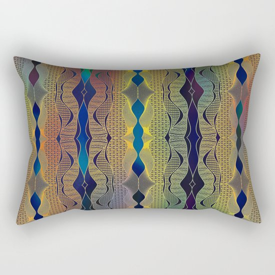 Doodle pattern Rectangular Pillow
