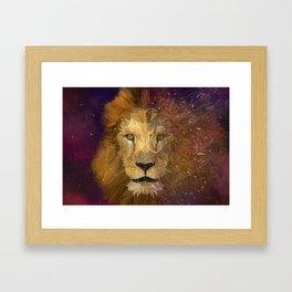 Invincible Leo Framed Art Print