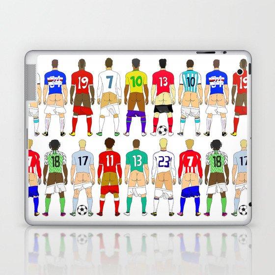 Soccer Butts Laptop & iPad Skin