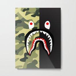 Bape camo black Metal Print