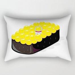 Space Odyssey Sushi | Astronaut Sushi | Space Sushi | Galaxy Sushi | Ikura Sushi | pulps of wood Rectangular Pillow