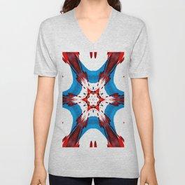Star design Unisex V-Neck