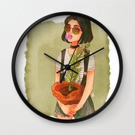 Ms. Lando Wall Clock