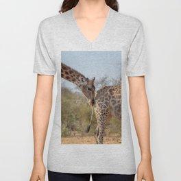Giraffe 6 Unisex V-Neck