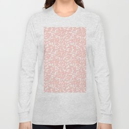 Pink and White Composition Notebook Long Sleeve T-shirt