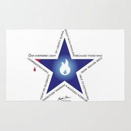 Remember your Veteran with an honor Star. Rug
