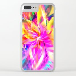 Whorl Whorl Clear iPhone Case