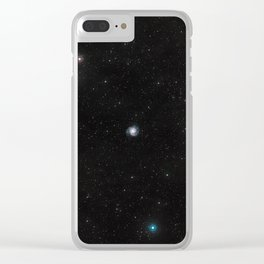 Endless space loop Clear iPhone Case