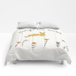 bunny dreams Comforters