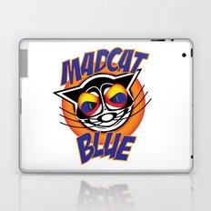 MadCat Blue Laptop & iPad Skin