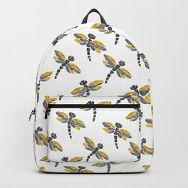 Dragonflies - Black Palette Backpack