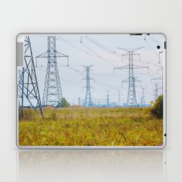 Landscape with power lines Laptop & iPad Skin