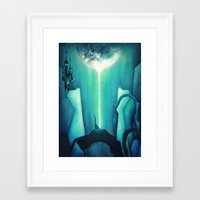 witch Framed Art Prints featuring Witch by Annya Kai