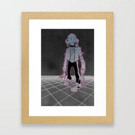 Lazer Knight Framed Art Print