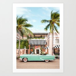 Palm Beach Galleries Art Print