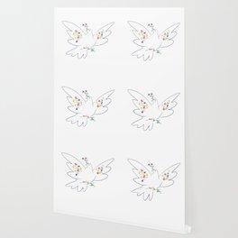 Picasso's Dove Wallpaper
