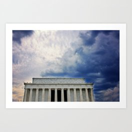 Dramatic Background Art Print