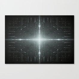 M45 Slit Dimension Canvas Print