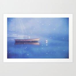 Float Away Softly Art Print