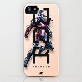 Heroes and Villains Series 2: War Machine iPhone Case