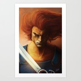 ThunderCats Collection - Lion-O Art Print
