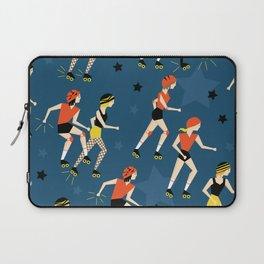 Roller Derby Girls Laptop Sleeve