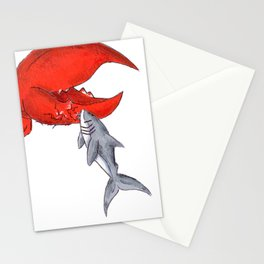 Great White Lobstah Lovah Stationery Cards