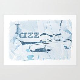Jazz Trumpet Art Print