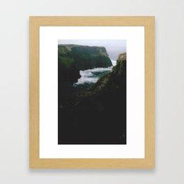 Analogue Cliffs Framed Art Print