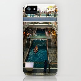 Shopping Mall Boat iPhone Case