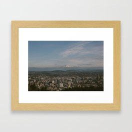 Portland, OR Framed Art Print