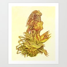 Lithunicas nest Art Print