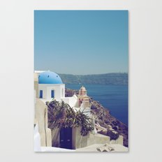 Santorini Door VI Canvas Print